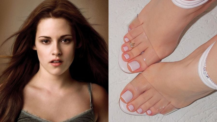 female hollywood celebrities with beautiful feet and toes